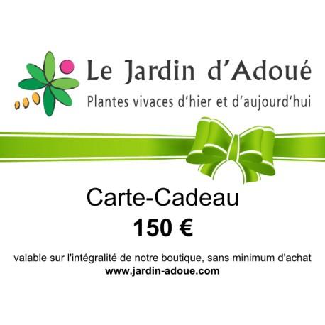 Carte-Cadeau de 150 €